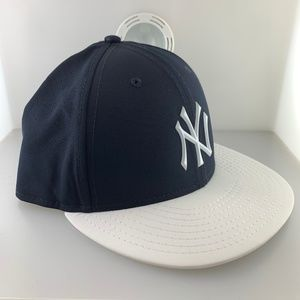New Era Cap New York Yankees Navy Fitted sz 7 7/8
